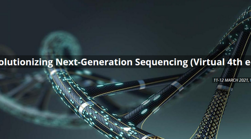 Our participation in the VIB conference: «Revolutionizing Next-Generation Sequencing» 11-12 March 2021 (virtual edition)!
